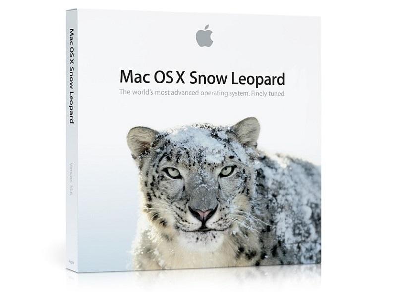 mac osx snow leopard logo