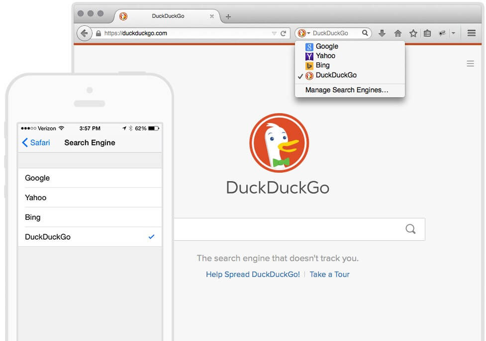 duckduckgo extension
